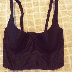 Silk bra top